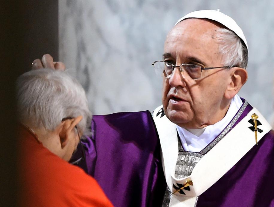 Resultado de imagem para papa cinzas