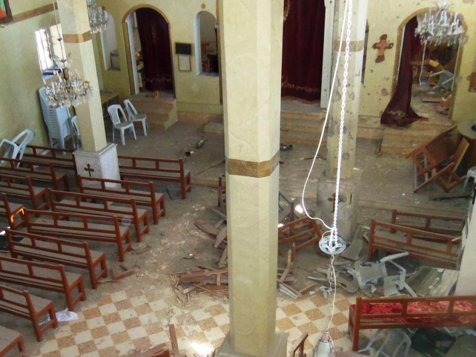 Igreja atacada no Iraque