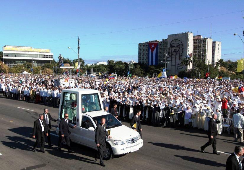 Lusa/Bento XVI em Havana, 28.03.2012