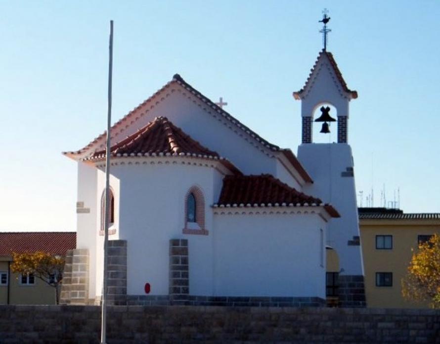 Foto: Capela da Base Aérea de Monte Real, onde o Papa Francisco irá rezar no dia 12 de maio (Ordinariato Castrense)
