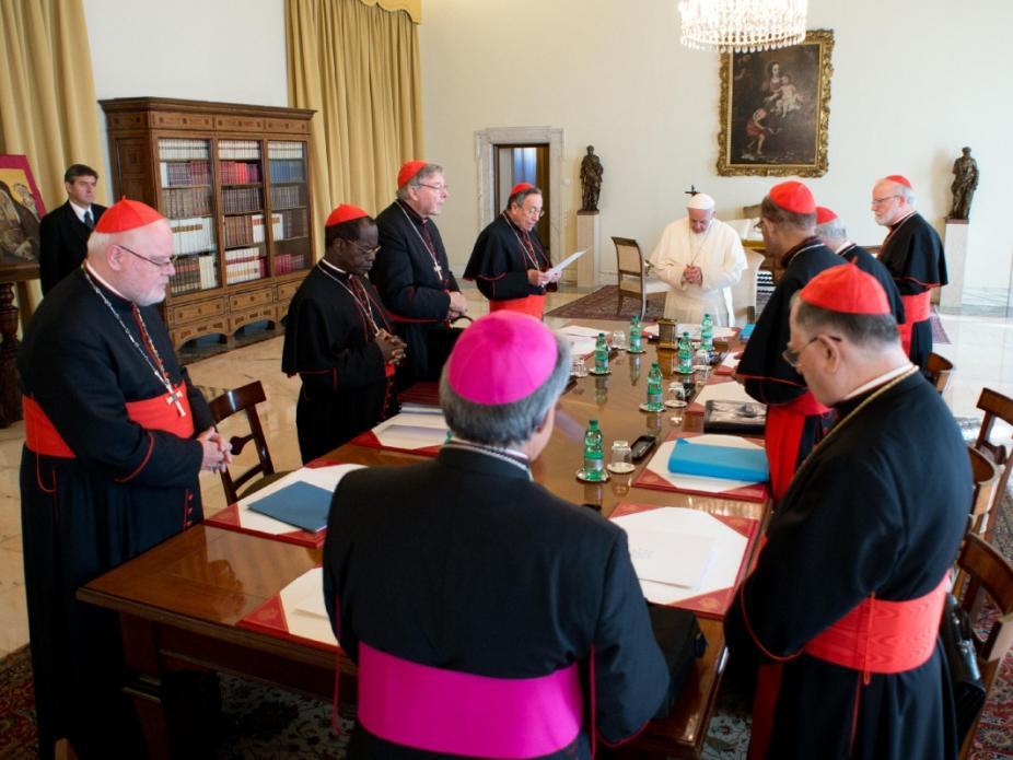 Reunião do Conselho de Cardeais (Lusa)