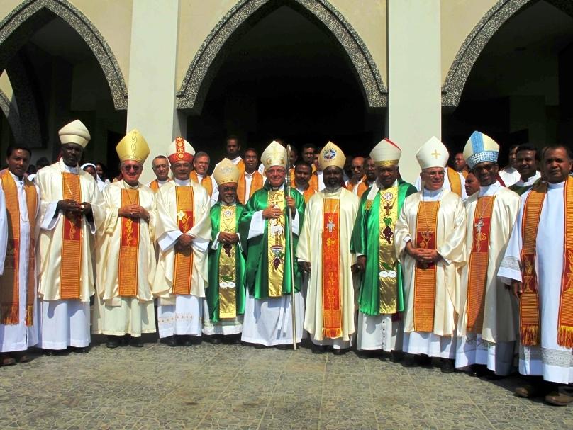 Encontro de bispos lusófonos em 2012