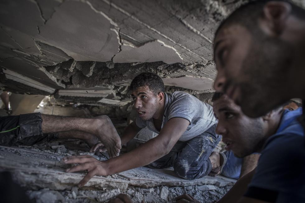 Lusa/Gaza, procura de sobreviventes nos destroços