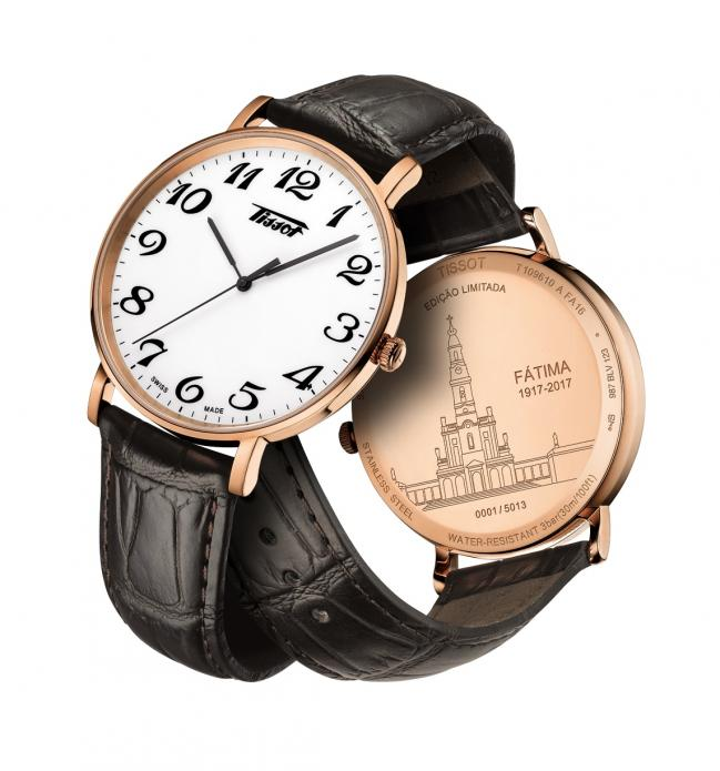 a975db08a0a Agência Ecclesia - Fátima  Marca de relógios suíça dedica edição ...