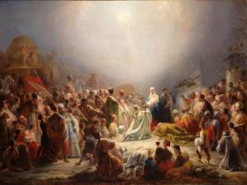 A Adoração dos Magos - Domingos Sequeira (1828)