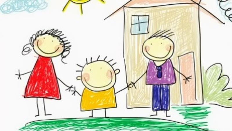 Ag ncia ecclesia crian as v o desenhar fam lia para o papa for Disegnare la pianta del piano di casa