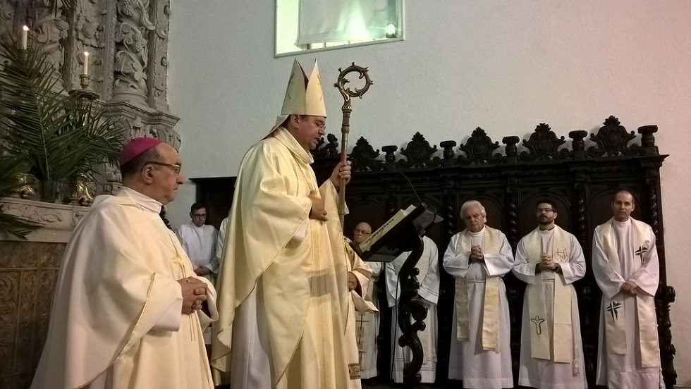 Homilia de D. João Lavrador, bispo de Angra, na Vigília Pascal
