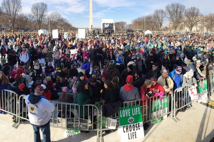 EUA: Papa associa-se a marcha pela vida
