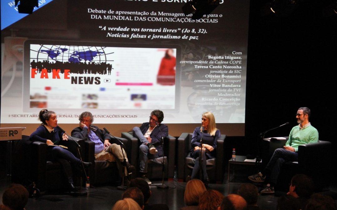 Igreja/Media: Jornalistas saúdam apelo do Papa a «redescobrir» a profissão