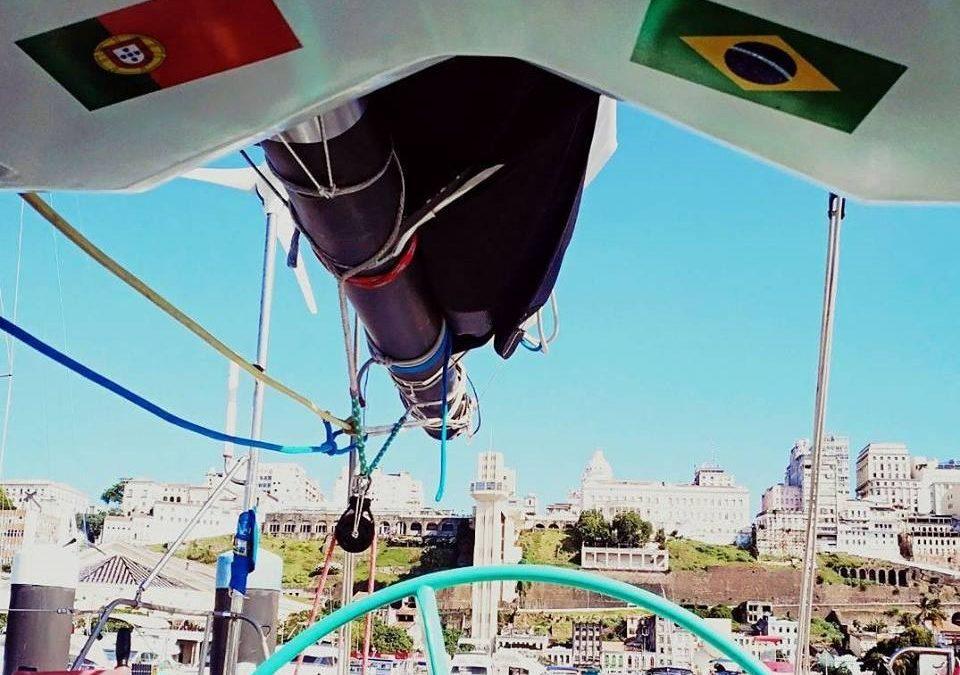 Centenário: Velejador Ricardo Diniz e imagem de Nossa Senhora de Fátima chegaram ao Brasil