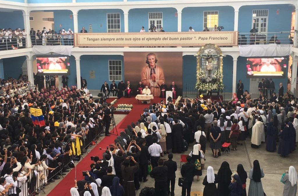 Peru: «Rir-se de si mesmo», o conselho do Papa