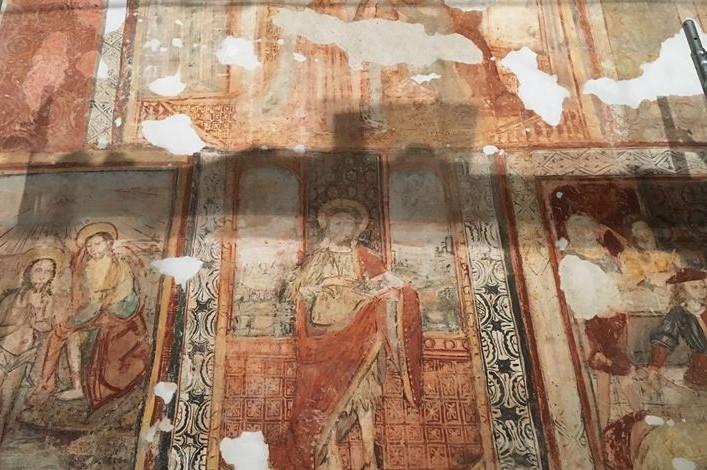 Bragança: Pintura mural única no país descoberta na capela de Santo Cristo