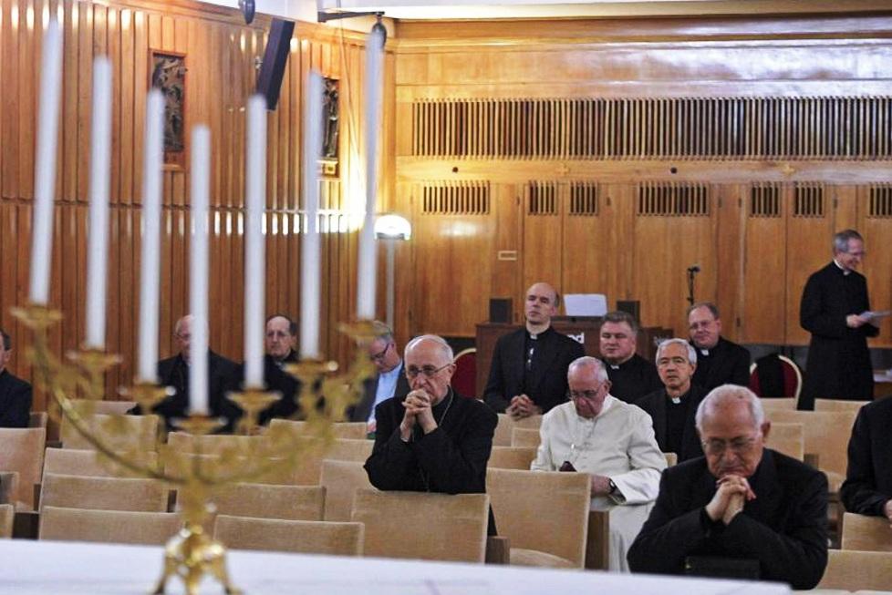 Quaresma: Papa e colaboradores voltam a sair do Vaticano para retiro espiritual