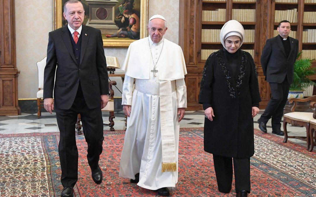 Vaticano: Papa e presidente da Turquia apelam ao respeito pela «legalidade internacional» na questão de Jerusalém