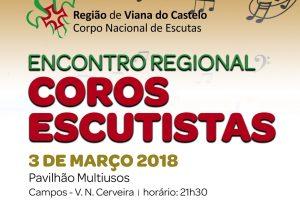 Viana do Castelo: Encontro regional de coros escutistas