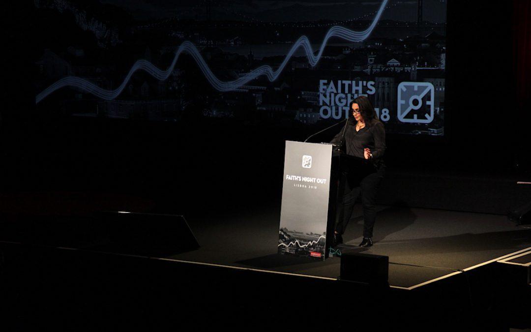 Faith's Night Out – «A profissão tem-me puxado para um lado e Deus para o outro» – Alberta Marques Fernandes