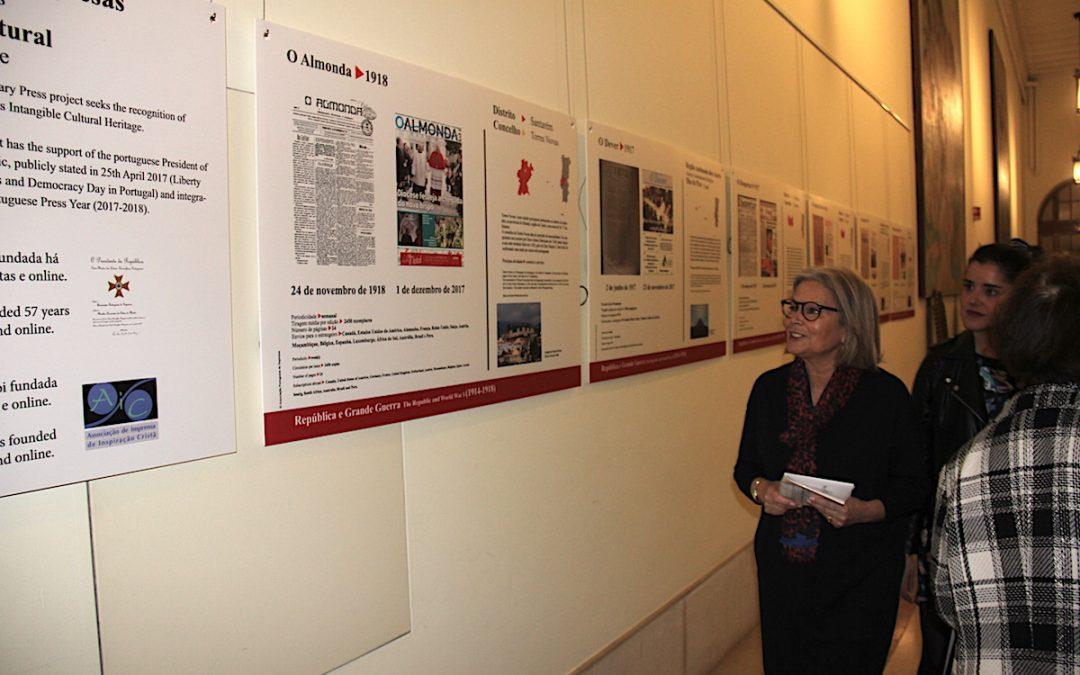 Media: Jornais centenários homenageados na Assembleia da República