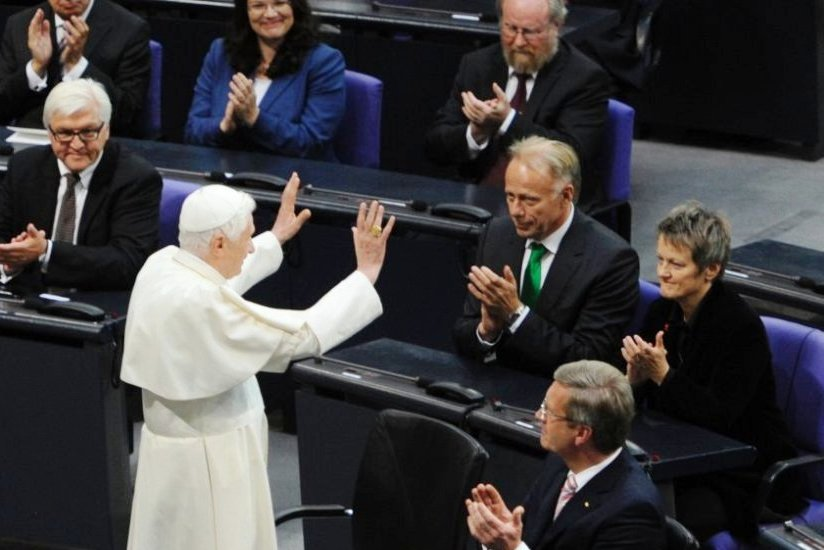 GERMANY-VATICAN-POPE-PARLIAMENT