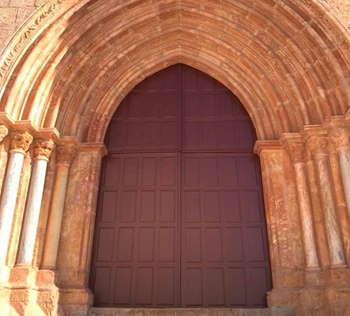 Algarve: Portal principal da Sé de Silves «totalmente» recuperada
