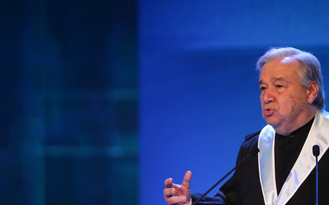 Ambiente: António Guterres alerta para «risco de perder» luta das alterações climáticas