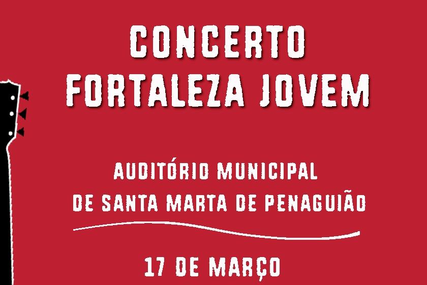 Juventude: «Giofrater» organiza concerto «Fortaleza Jovem» em Santa Marta de Penaguião
