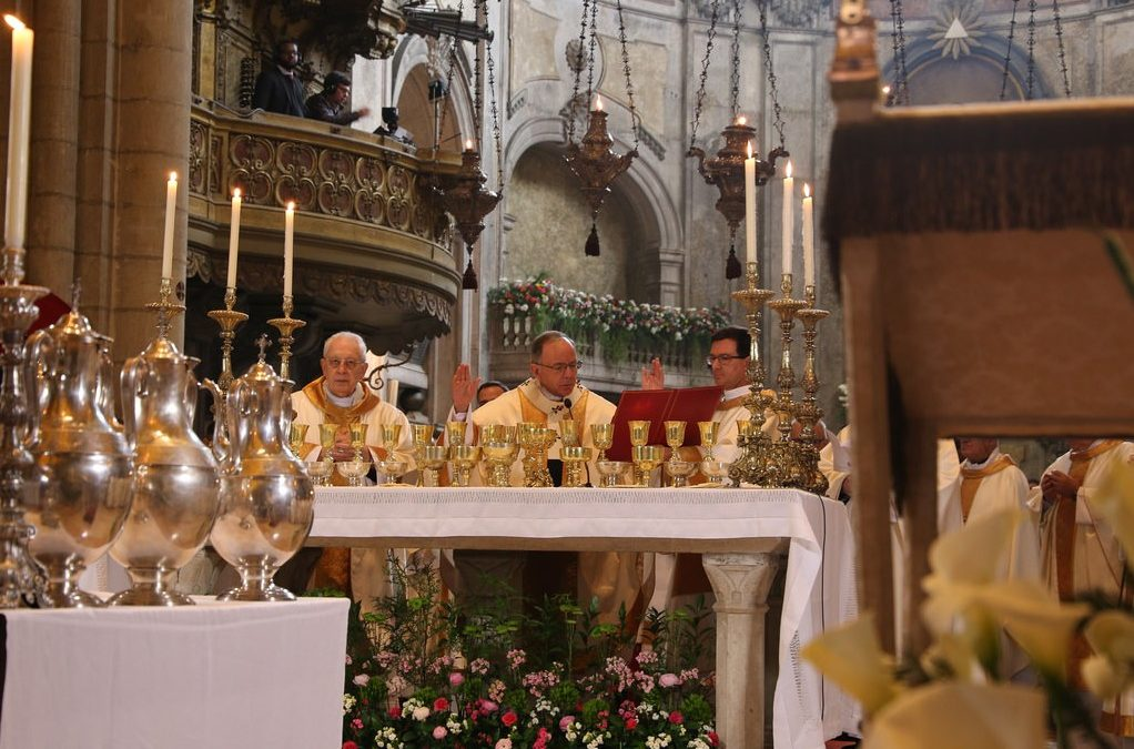 Homilia da Missa Crismal do cardeal-patriarca de Lisboa