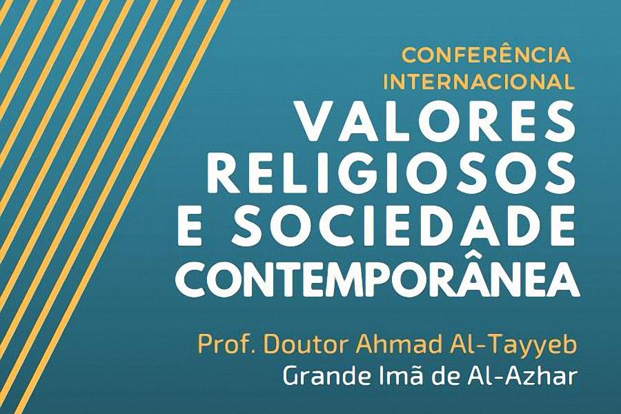Líder do Islão no Egito faz conferência sobre «Valores Religiosos e Sociedade Contemporânea»
