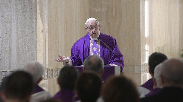 Vaticano: Perdoar para ser perdoados, pede o Papa