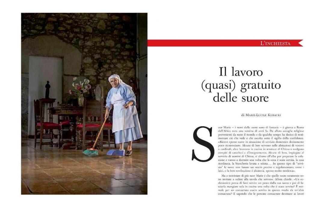 Vaticano: Revista questiona «trabalho (quase) gratuito» de religiosas em instituições católicas