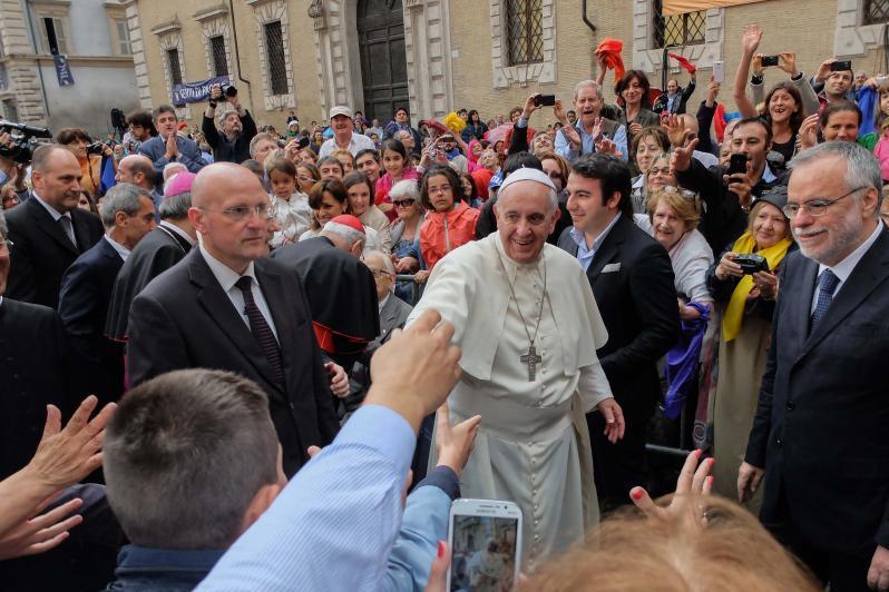 Roma: Papa Francisco vai visitar «pequena ONU» católica
