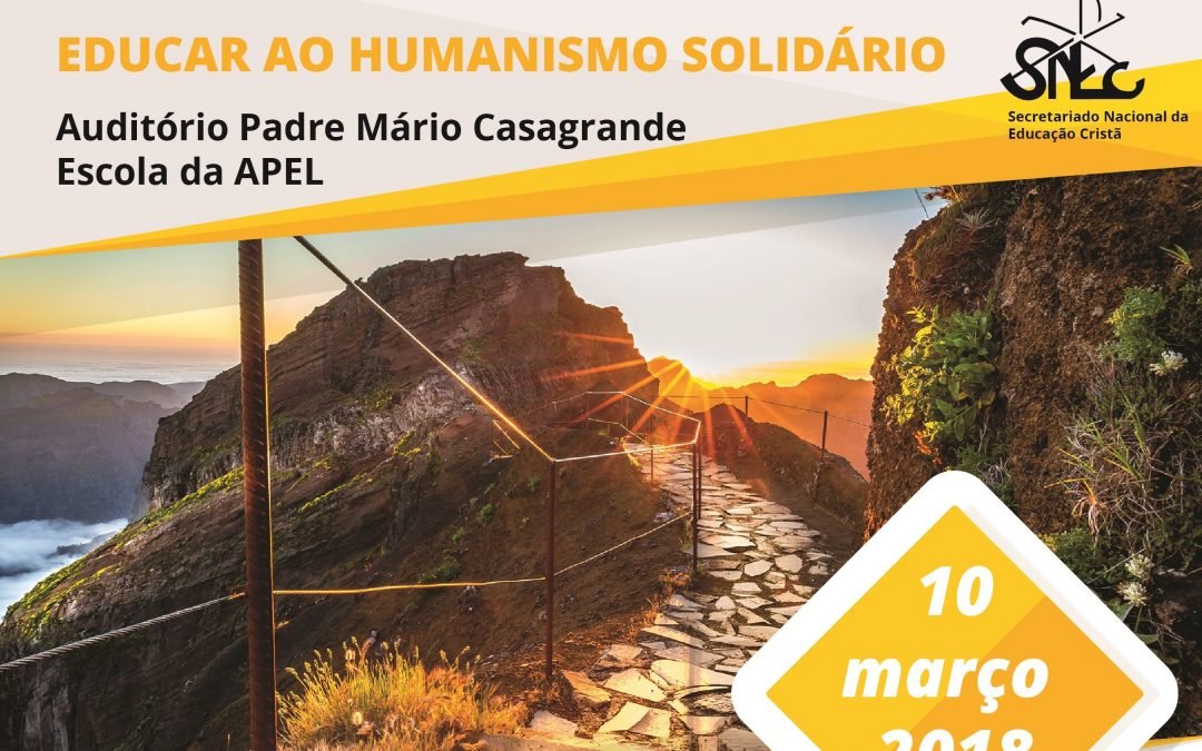 Funchal: «Educar ao humanismo solidário» inspira formação de professores e escolas