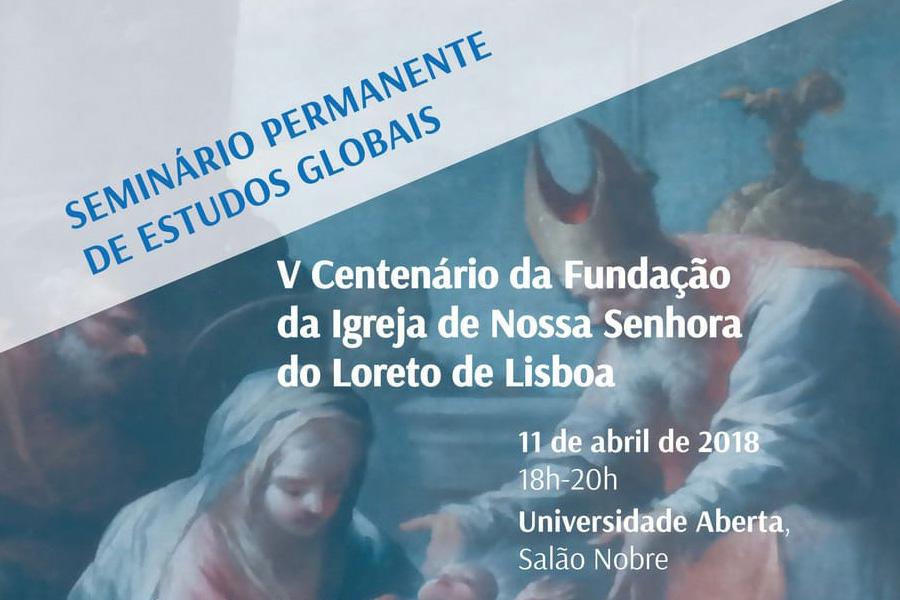 Património: Seminário sobre a história da Igreja do Loreto em Lisboa