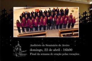 Aveiro: Orfeão de Barrô em concerto solidário pelo seminário @ Aveiro | Aveiro District | Portugal
