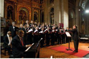 Lisboa: Concerto do Coral «Stella Vitae» na Igreja do Convento dos Cardaes