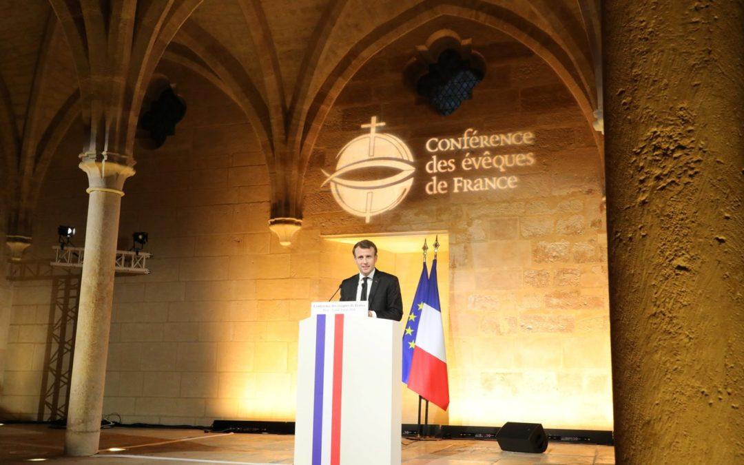 França: Emmanuel Macron e representantes católicos estreitam laços após serão no Colégio dos Bernardinos