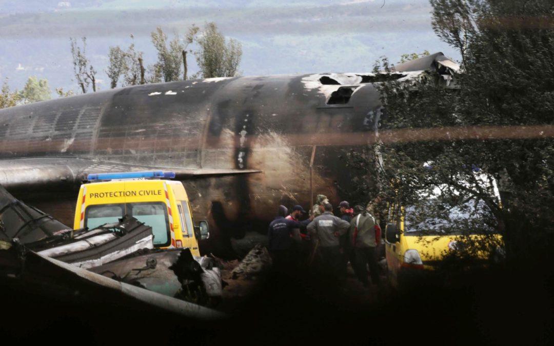 Argélia: Papa manifesta pesar pelo acidente com avião militar
