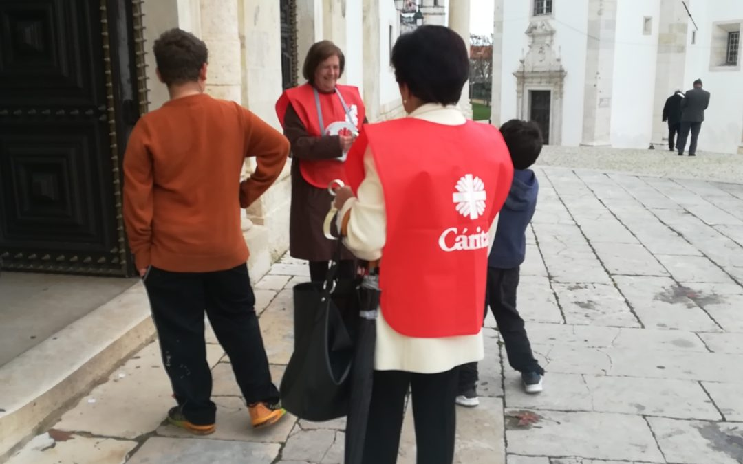 Solidariedade: Peditório da Cáritas Portuguesa recolheu mais de 181 mil euros