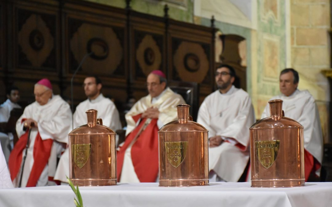 Homilia do bispo de Leiria-Fátima na Missa Crismal