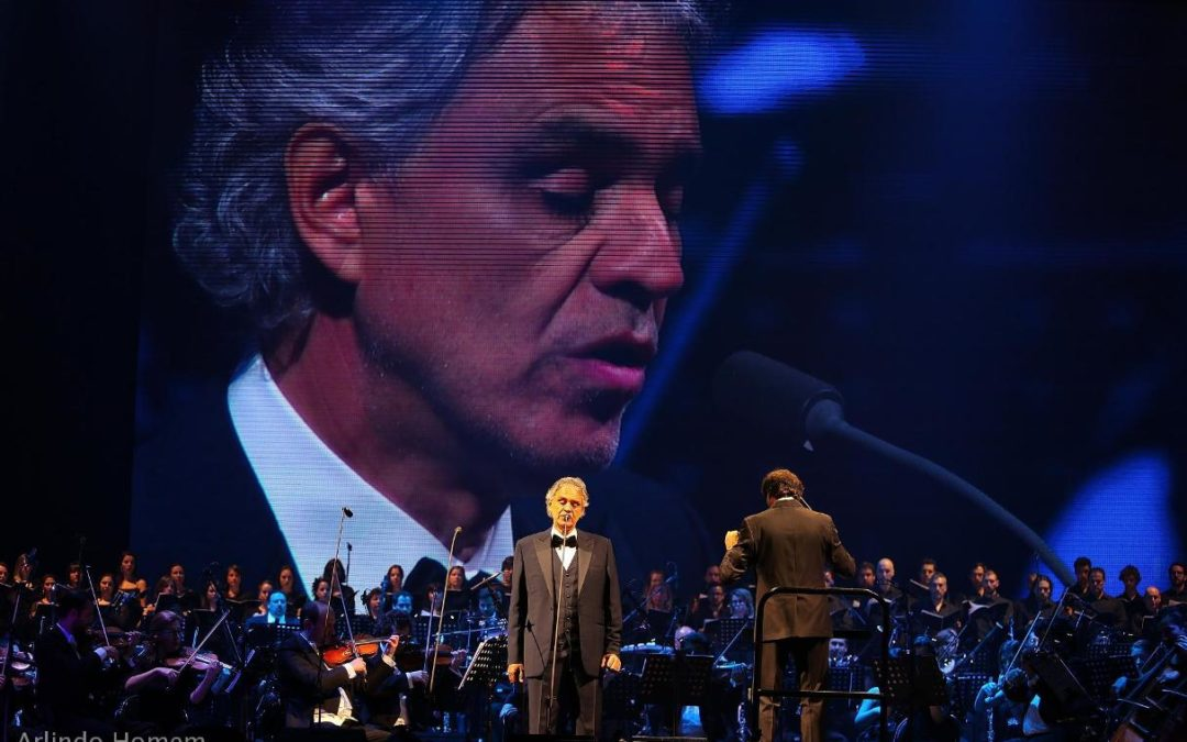Igreja/Cultura: Andrea Bocelli em Fátima para recital de ação de graças pelo Centenário das Aparições