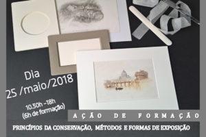 Setúbal: Ação sobre «Princípios da conservação, métodos e formas de exposição»
