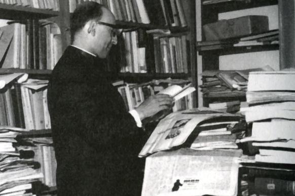 """Jesuítas: Celebrações do centenário de nascimento querem internacionalizar a obra do Padre Manuel Antunes <img src=""""http://www.agencia.ecclesia.pt/portal/wp-content/uploads/2018/07/icon_video20.png"""">"""