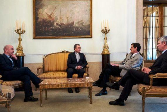 Porto: D. Manuel Linda foi recebido pelo presidente da Câmara