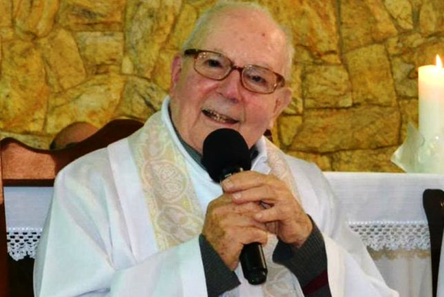 Óbito: Faleceu padre José Mahon que esteve na Diocese de Setúbal durante nove anos