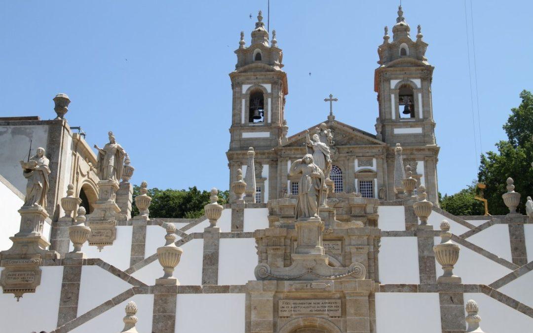 Braga: Presidente da República na apresentação das obras da Basílica do Bom Jesus