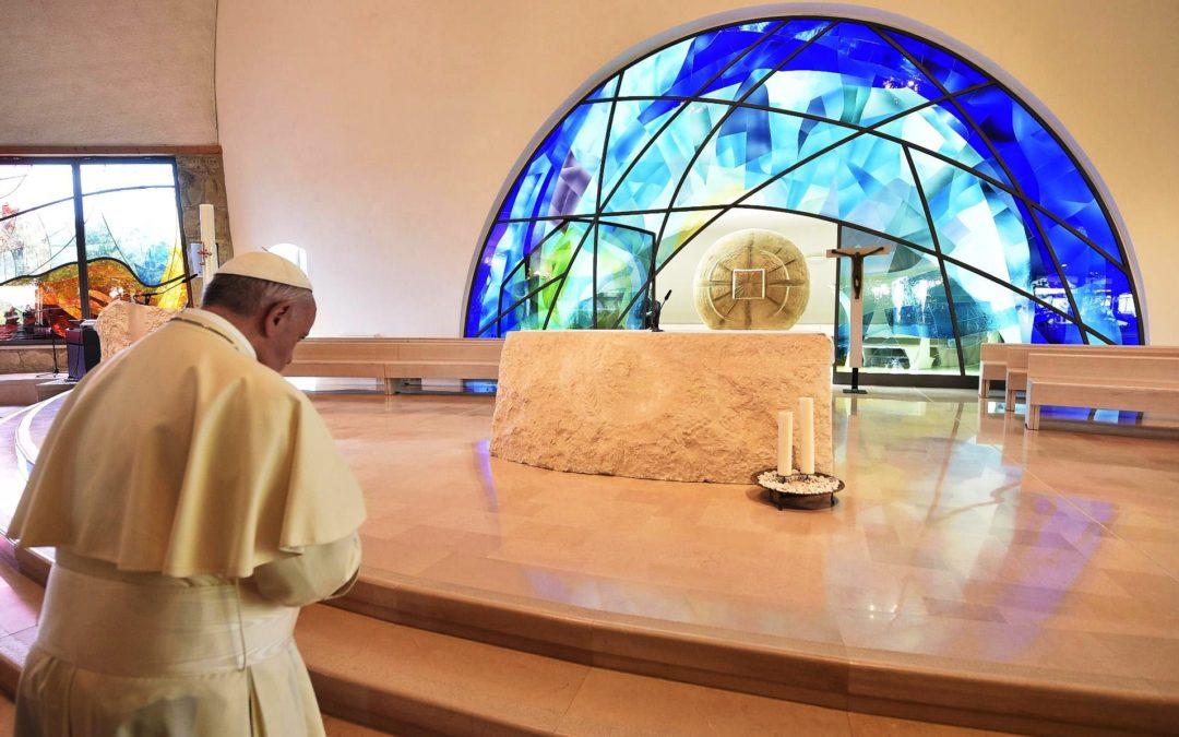 Itália: Papa sublinha importância de celebrar memória de Maria, «Mãe da Igreja»
