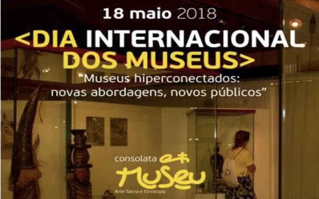 Cultura: Consolata Museu assinala o Dia Internacional e Noite Europeia dos Museus