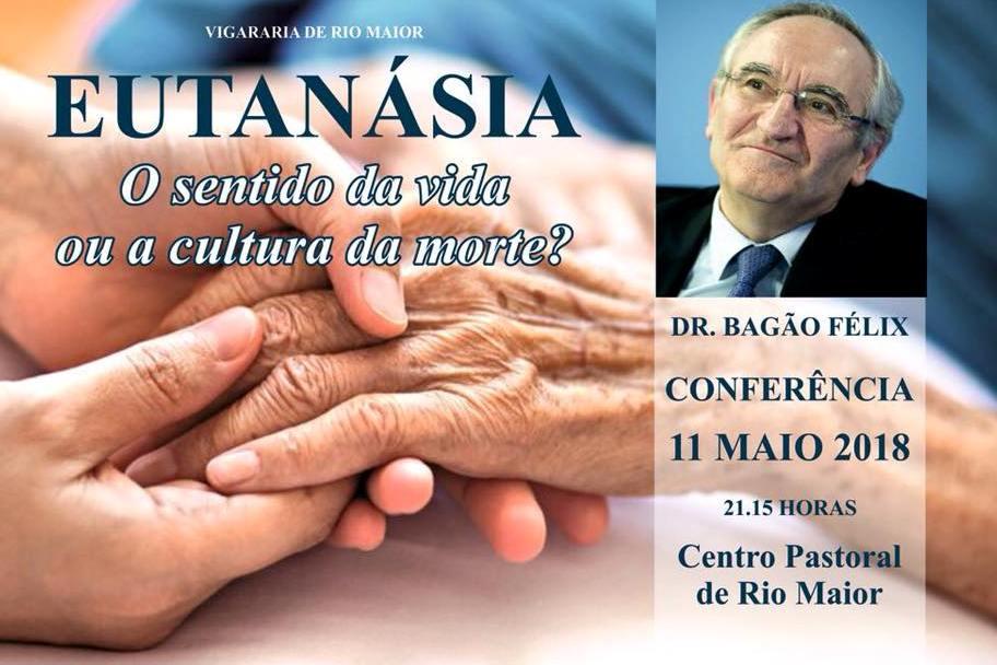 Igreja/Bioética: Conferência sobre «Eutanásia» por Bagão Félix em Rio Maior
