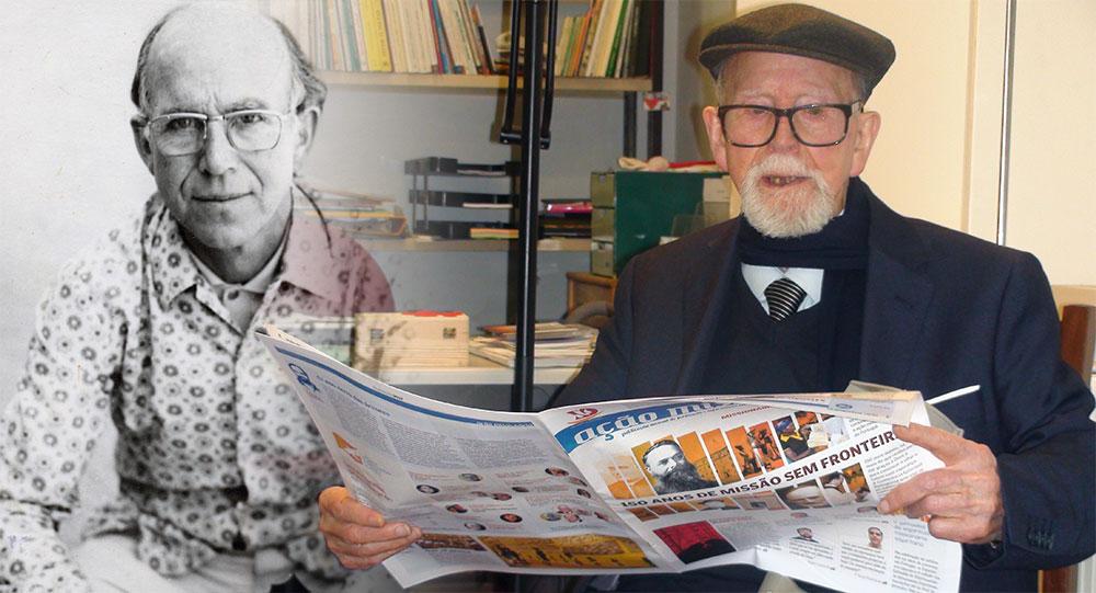 Óbido: Faleceu o irmão espiritano Tomás Alves aos 101 anos de idade