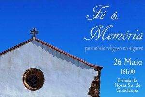 Algarve: Tertúlia «Fé e Memória» dedicada ao património religioso