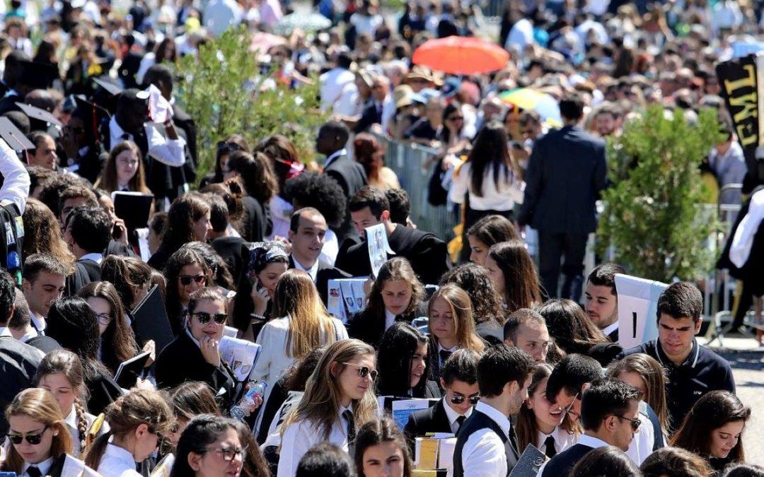 Pastoral Universitária: «Cada um de vocês é bênção de Deus para a vida de muita gente», cardeal-patriarca